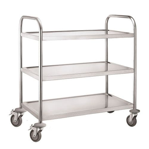 iMettos Service Trolley 3 Tier With Round Tube - 301004